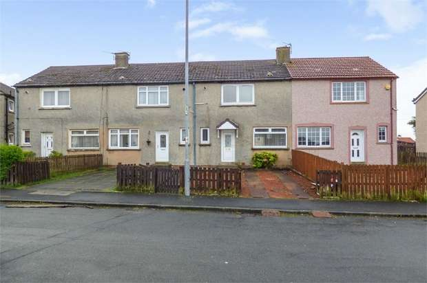 2 Bedrooms Terraced House for sale in Gair Crescent, Wishaw, North Lanarkshire