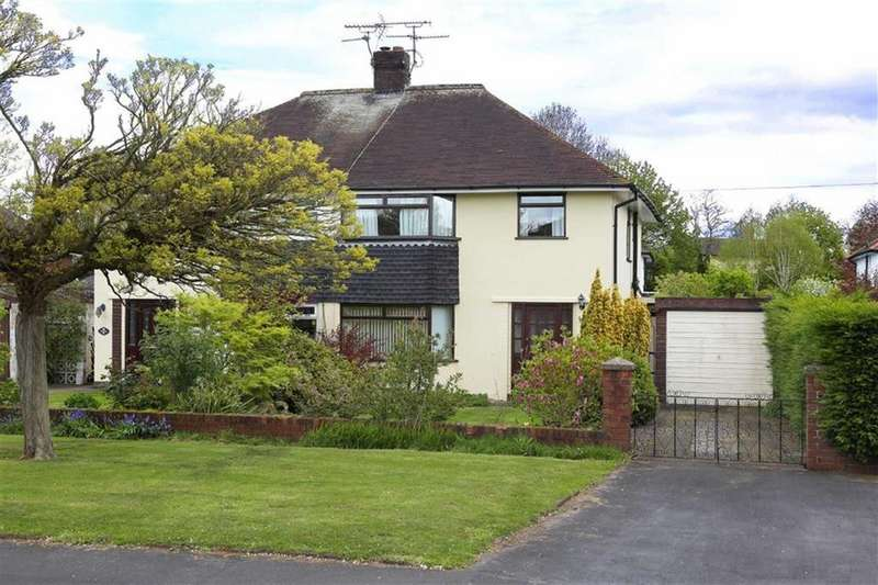 3 Bedrooms Semi Detached House for sale in Brereton Drive, Nantwich, Cheshire