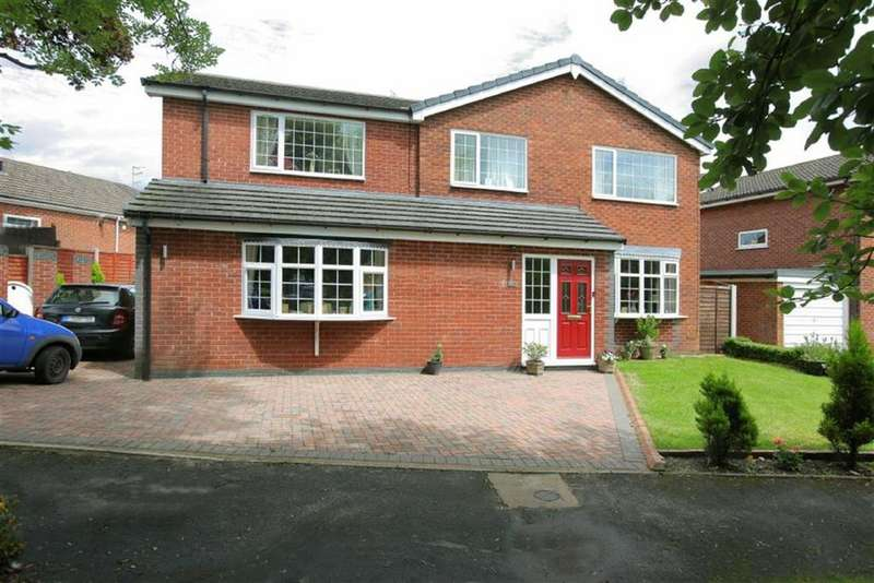 4 Bedrooms Detached House for sale in Sycamore Close, Audlem Crewe, Cheshire