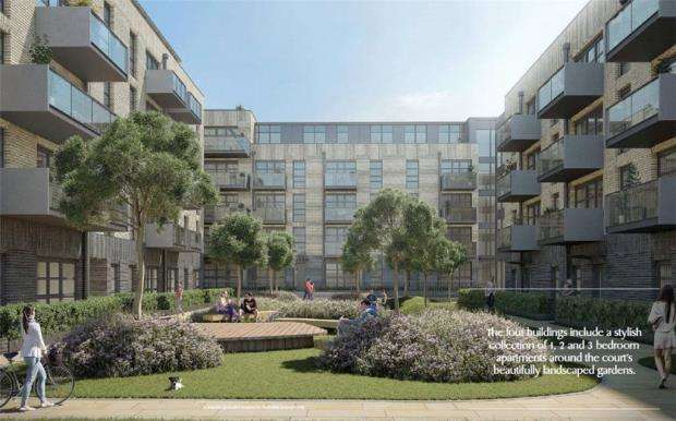 1 Bedroom Flat for sale in Arden Court, Pages Walk, London