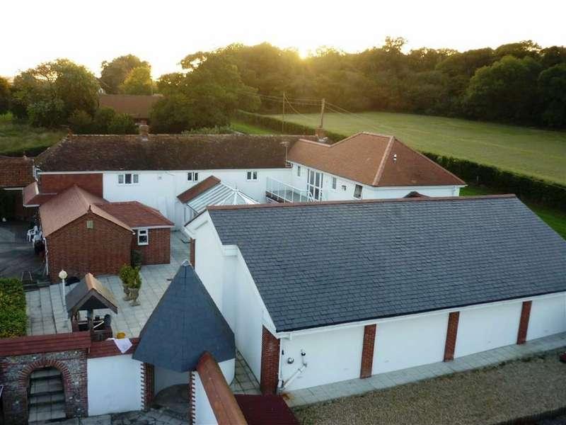 5 Bedrooms Detached House for sale in Tarrant Keyneston, Blandford Forum, Dorset