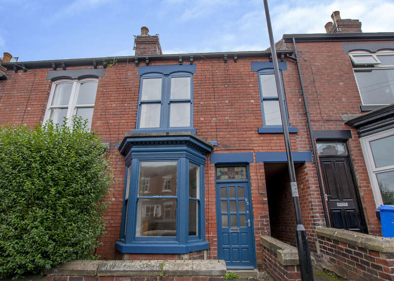 4 Bedrooms Terraced House for sale in 95 Blair Athol Road, Banner Cross, S11 7GA
