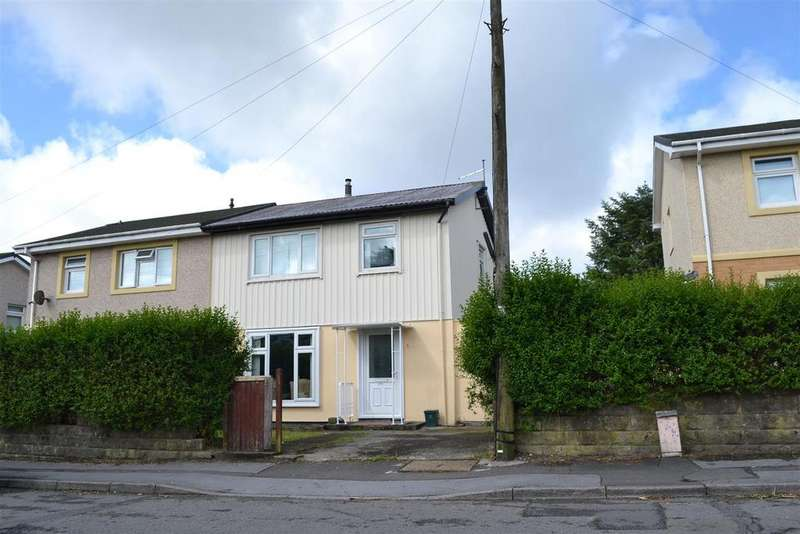 3 Bedrooms Semi Detached House for sale in Heol Cadifor, Penlan, Swansea