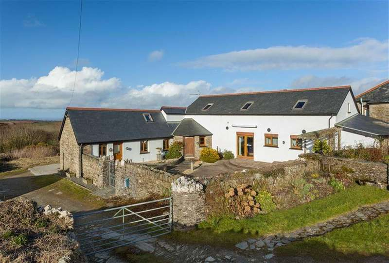 3 Bedrooms Detached House for sale in Woolscott Barton, Oxenpark Lane, Berrynarbor, Devon, EX34