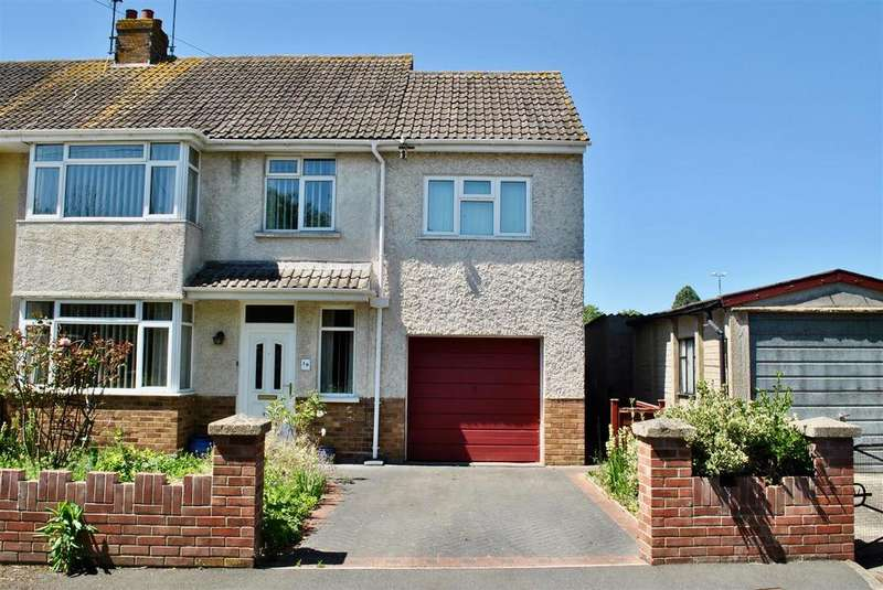 4 Bedrooms Semi Detached House for sale in Beverley Close