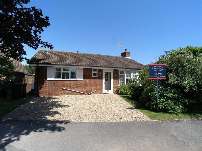 2 Bedrooms Detached Bungalow for sale in Elmstead Park Road, West Wittering, West Sussex