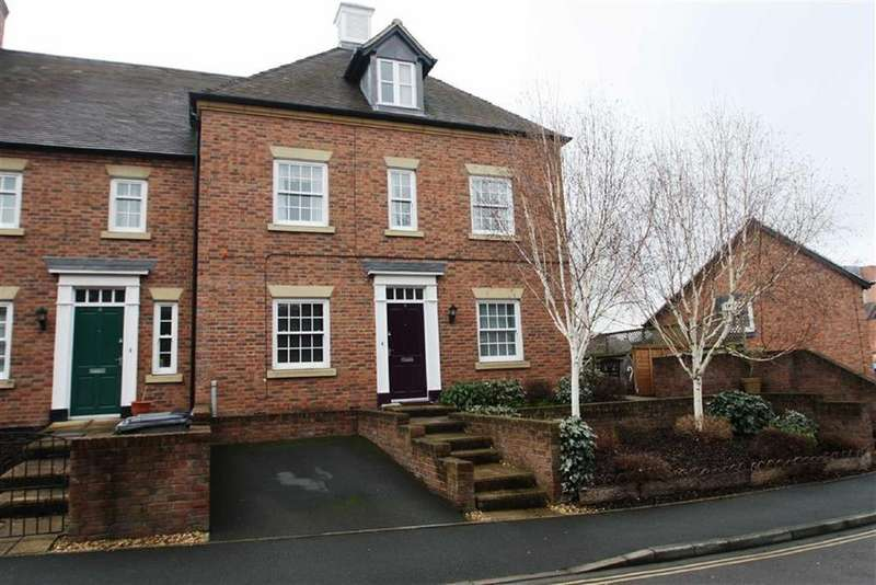 2 Bedrooms Flat for sale in Llewellyn Place, Frankwell, Shrewsbury