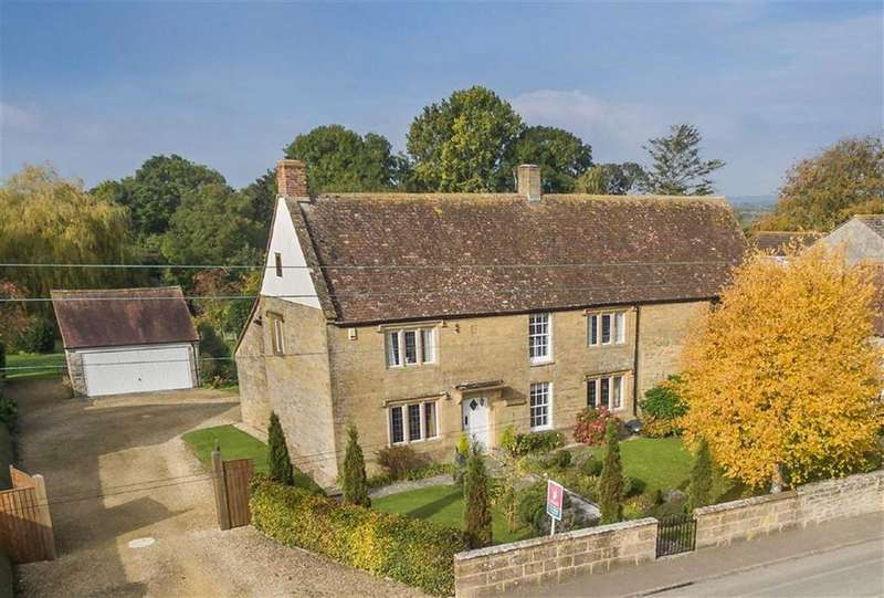 4 Bedrooms Detached House for sale in Long Load, Somerset, TA10