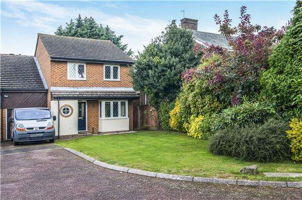 4 Bedrooms Link Detached House for sale in Langdale Close, ORPINGTON, Kent, BR6