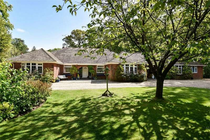 4 Bedrooms Detached Bungalow for sale in Colden Common, Winchester, Hampshire