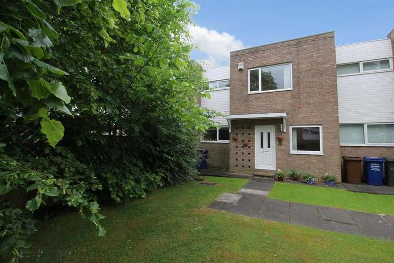 3 Bedrooms Terraced House for sale in Wyncote Court, Jesmond Park East, Newcastle Upon Tyne