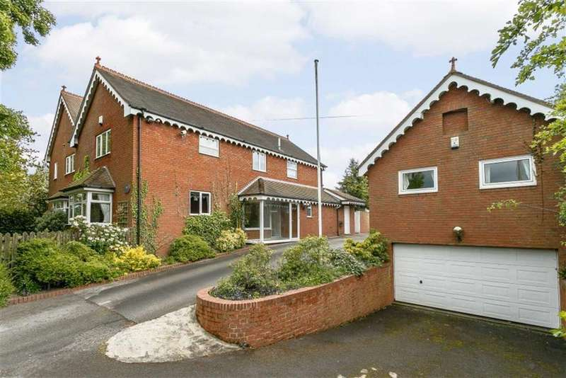 5 Bedrooms Detached House for sale in Grove Lane, Wishaw, Sutton Coldfield