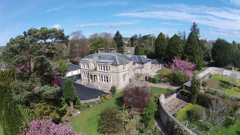 9 Bedrooms Detached House for sale in Palmers Cross House, Pluscarden Road, Elgin, Moray, IV30