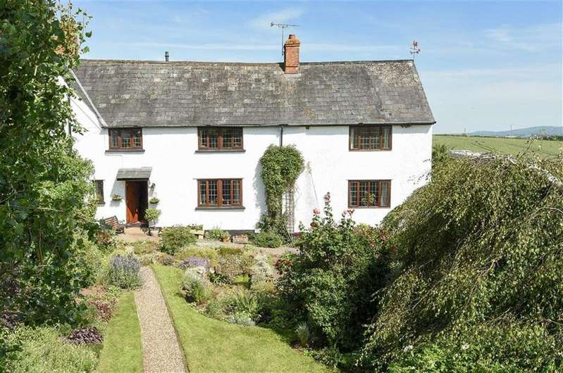 4 Bedrooms Semi Detached House for sale in Preston Bowyer, Milverton, Taunton, Somerset, TA4