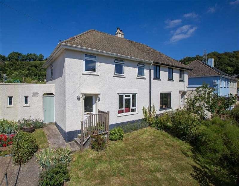 3 Bedrooms Semi Detached House for sale in Riverdale, Rural views, Harbertonford, Devon, TQ9