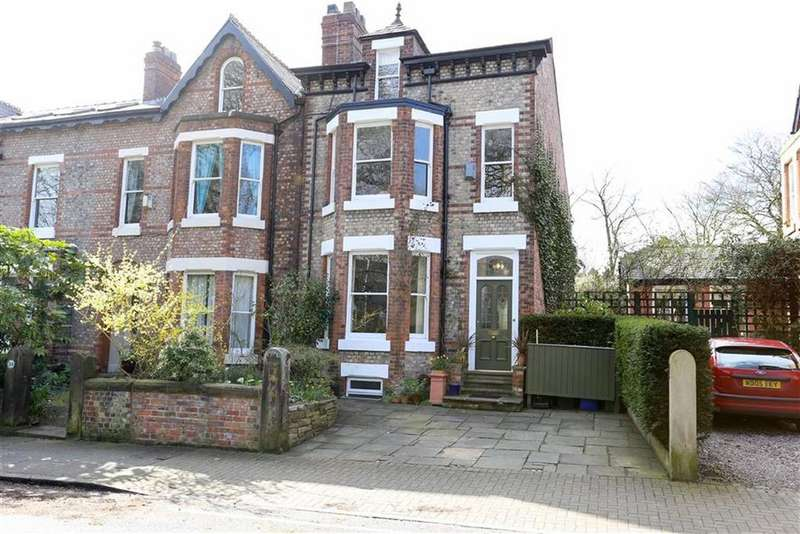 4 Bedrooms End Of Terrace House for sale in Kingston Road, Didsbury, Manchester