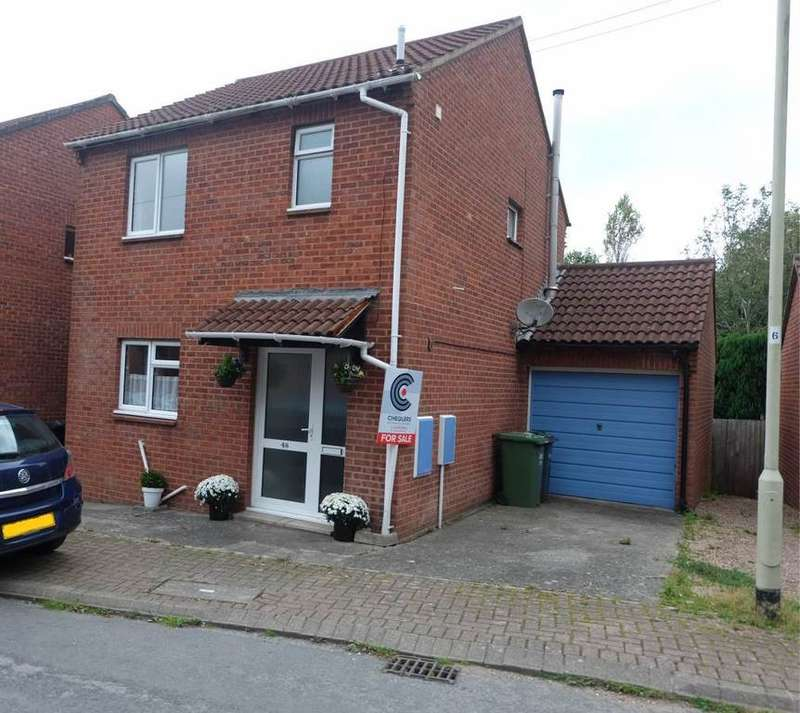 3 Bedrooms Link Detached House for sale in Weirside Way, Barnstaple