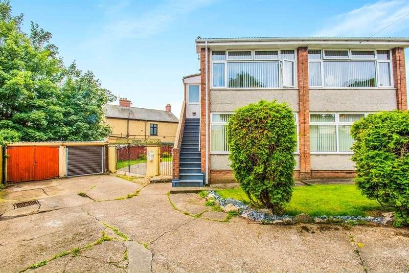 2 Bedrooms Maisonette Flat for sale in Harlech Road, Rumney, Cardiff