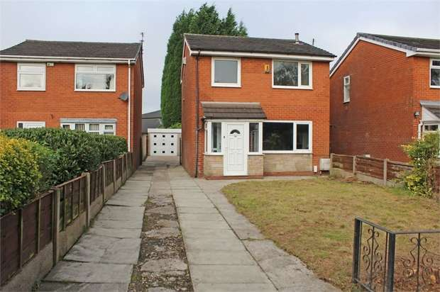 3 Bedrooms Detached House for sale in Ravenwood Drive, Audenshaw, Manchester