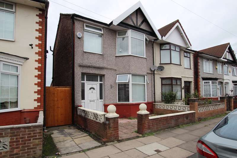 3 Bedrooms Semi Detached House for sale in Morningside, Liverpool, L23