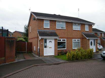 3 Bedrooms Semi Detached House for sale in Padworth Place, Leighton, Crewe, Cheshire
