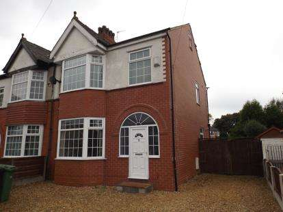 3 Bedrooms Semi Detached House for sale in Barton Road, Stretford, Manchester, Greater Manchester