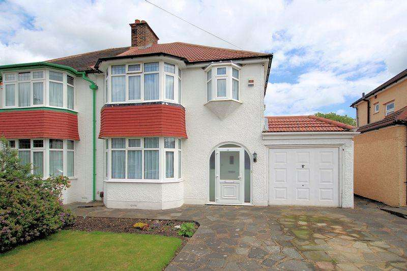 3 Bedrooms Semi Detached House for sale in Ridgemount Avenue, Shirley