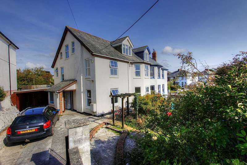 6 Bedrooms Semi Detached House for sale in Silverton Road, Bude, Cornwall, EX23 8EY