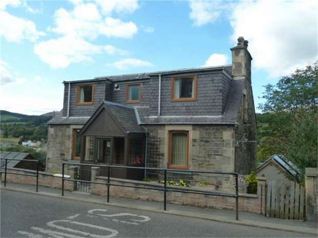 4 Bedrooms Maisonette Flat for sale in 8 Yarrow Terrace, Selkirk, Scottish Borders