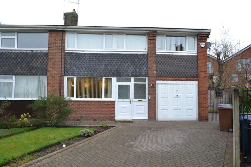 5 Bedrooms Semi Detached House for sale in Saville Road, Gatley