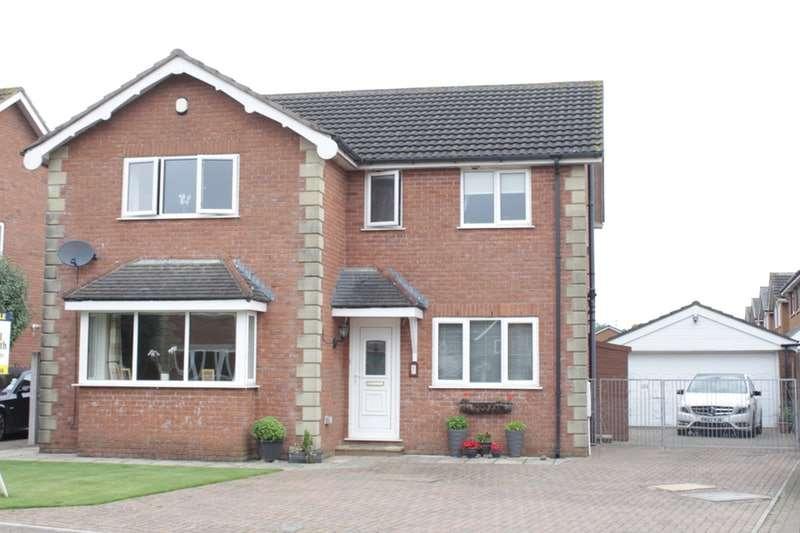 4 Bedrooms Detached House for sale in Linden Fold, Preston, Lancashire, PR4