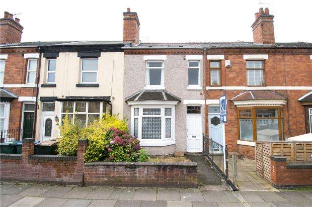 3 Bedrooms Terraced House for sale in Stanley Road, Earlsdon, Coventry, West Midlands