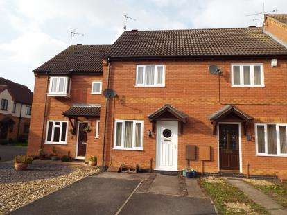 2 Bedrooms Terraced House for sale in Brighton Close, Wigston, Leicester, Leicestershire