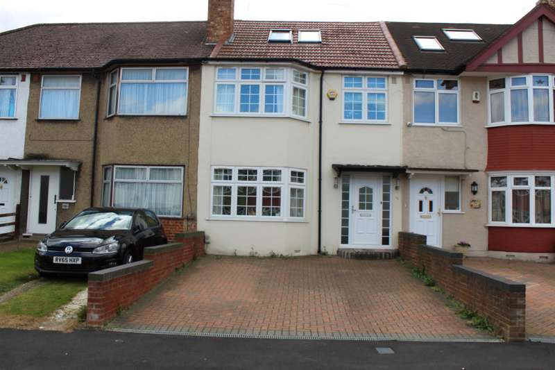 4 Bedrooms Terraced House for sale in Granville Road, Hillingdon, Middlesex, UB10 9AF