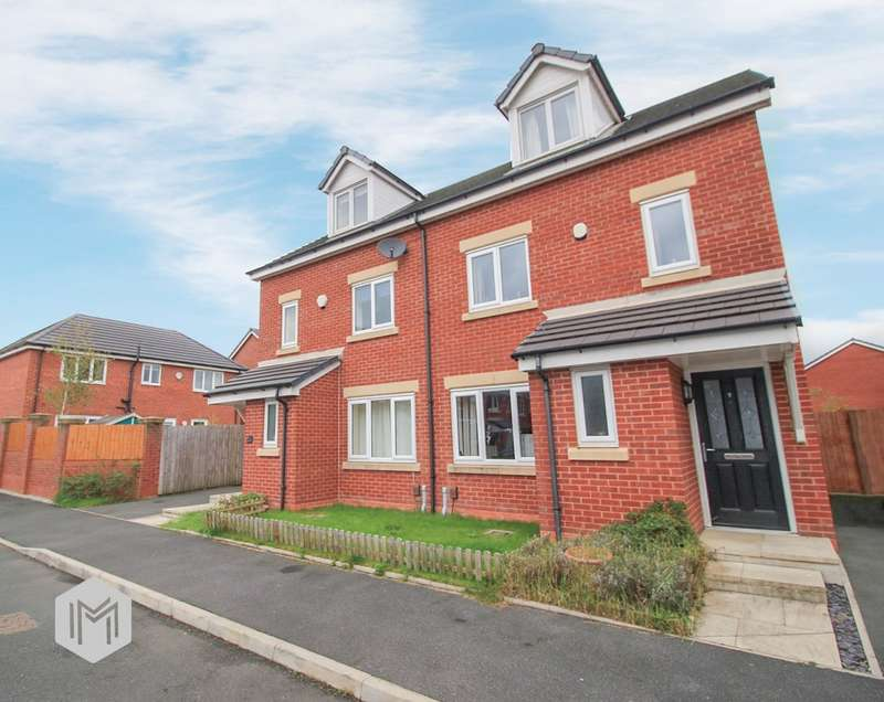 4 Bedrooms Semi Detached House for sale in Spinners Drive, Worsley, Manchester, M28