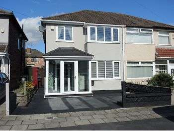 3 Bedrooms Semi Detached House for sale in Hilary Avenue, Swanside, Liverpool