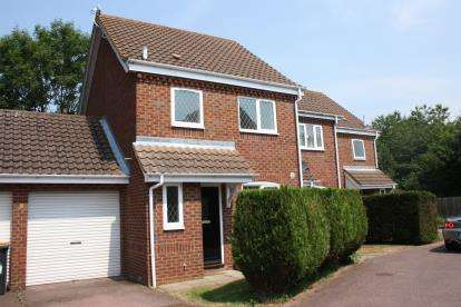 3 Bedrooms End Of Terrace House for sale in Pinsent Avenue, Bromham, Bedford, Bedfordshire