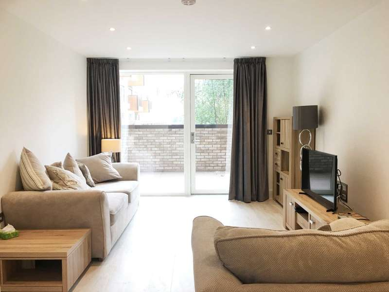 1 Bedroom Flat for sale in Bodiam Court, London, NW10