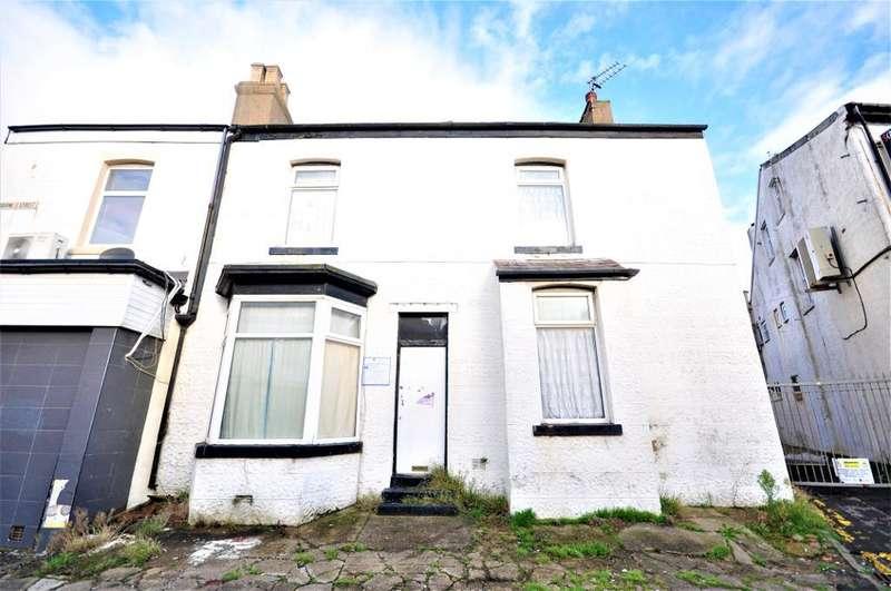 2 Bedrooms End Of Terrace House for sale in Milbourne Street, Blackpool, Lancashire, FY1 3ER