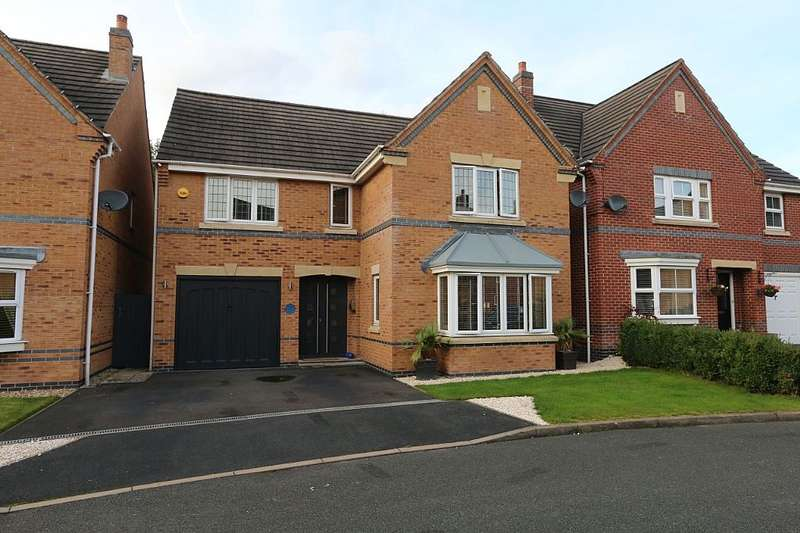 4 Bedrooms Detached House for sale in Curlew Drive, Brownhills, Walsall, West Midlands, WS8 6DY