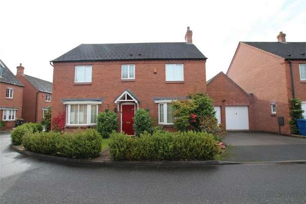 4 Bedrooms Detached House for sale in Mellor Drive, Alrewas, Burton upon Trent, Staffordshire