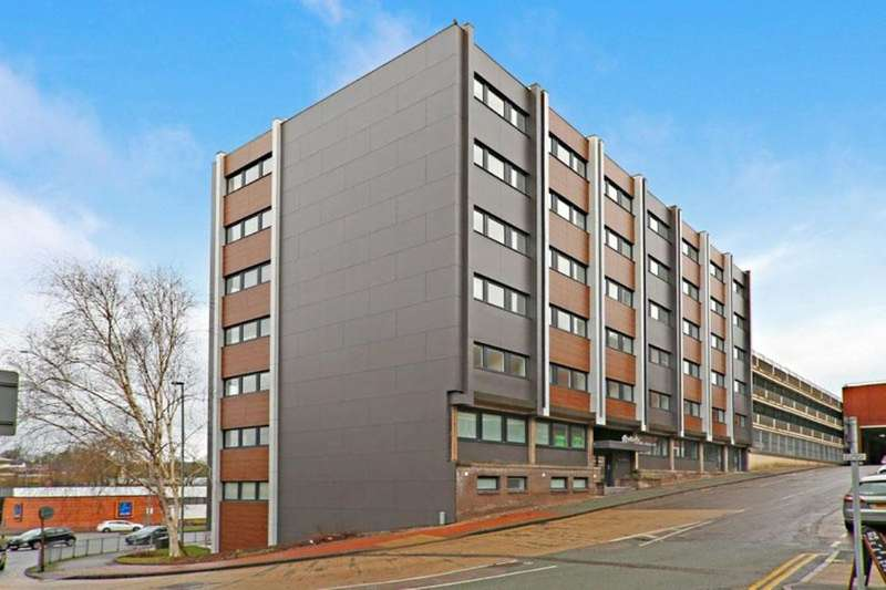 1 Bedroom Flat for sale in Keele House, The Midway, Newcastle, ST5