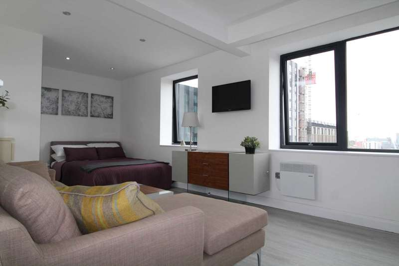 1 Bedroom Studio Flat for sale in Braken House, Charles St, Manchester