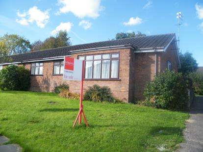 3 Bedrooms Bungalow for sale in Nixon Drive, Winsford, Cheshire, England