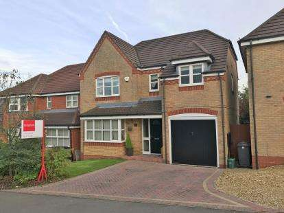 4 Bedrooms Detached House for sale in Badgers Croft, Chesterton, Newcastle Under Lyme, Staffs