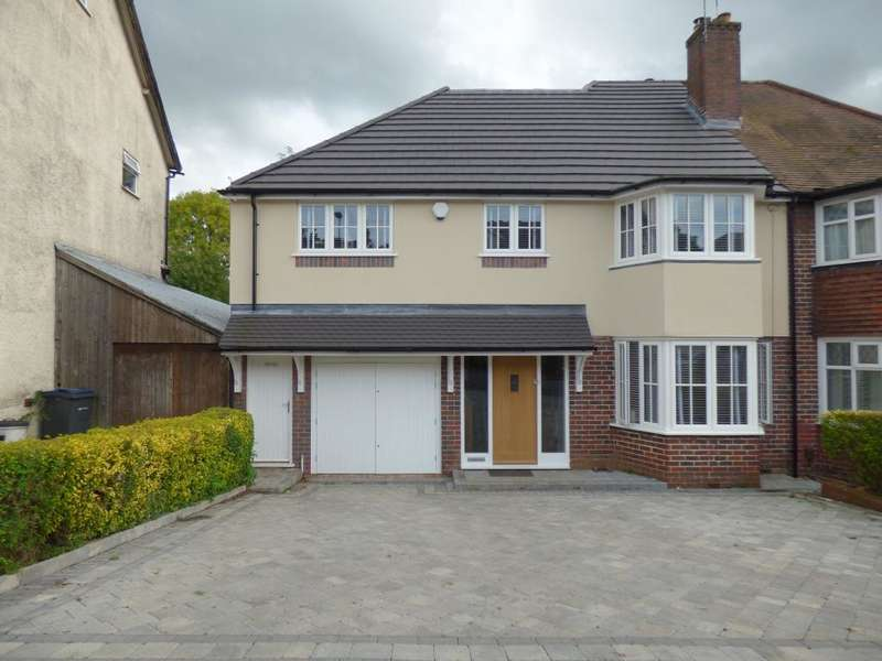 4 Bedrooms Semi Detached House for sale in Woodland Road, Northfield, Birmingham, B31 2HZ