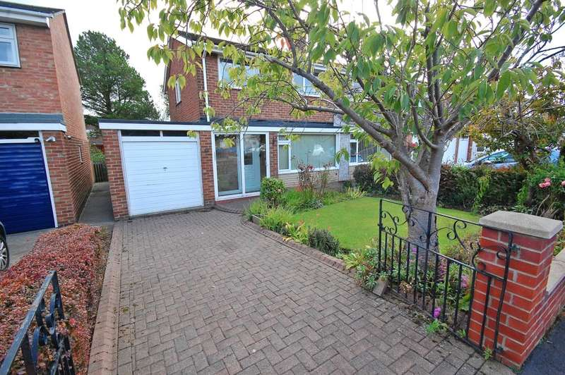 3 Bedrooms Semi Detached House for sale in Alnwick Road, Newton Hall, Durham