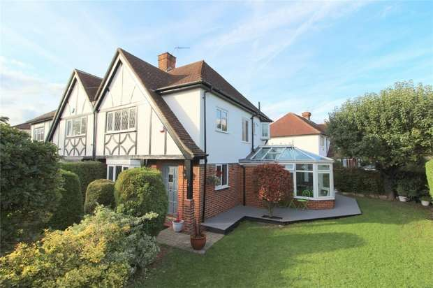3 Bedrooms Semi Detached House for sale in Village Way, Ashford, Middlesex