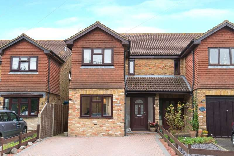 3 Bedrooms Semi Detached House for sale in Hill End Road, Harefield, UB9