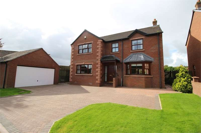 4 Bedrooms Detached House for sale in CA2 4UP The Willows, Durdar, Carlisle, Cumbria